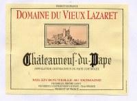 2011 Domaine du Vieux Lazaret, Chateauneuf-du-Pape, Red Wine, France