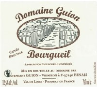 2014 Domaine Guion, Cuvee Prestige, AOC Bourgueil, Loire Valley, France