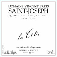 2015 Domaine Vincent Paris, Les Cotes, AOC Saint-Joseph, France