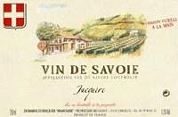 2013 Domaine Dupasquier, Jacquere, AOP Vin de Savoie, France