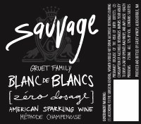 "NV Gruet Family, Blanc de Blancs, ""Sauvages,"" Zero Dosage, Alburquerque, NM"