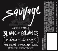 "NV Gruet Family, Blanc de Blancs, ""Sauvages,"" Zero Dosage, Alburquerque, NM"