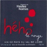2014 Domaines les Hautes Noelles, Heho le Rouge, Vin de Pays du Val du Loire, France
