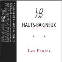 """2015 Domaine des Hauts, Baigneux, """"Les Pentes,"""" AOC Touraine"""