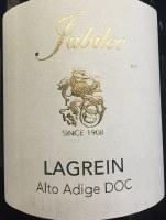2015 Jubilee, Lagrein, DOC Alto Adige, Italy