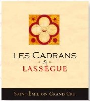 2012 Les Cadrans de Lassegue, Saint Emilion Grand Cru, Red Wine