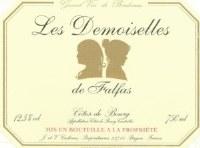 2014 Les Demoiselles de Falfas, AOC Cotes du Bourg, Bordeaux Red Wine