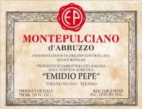 2010 Emidio Pepe, DOC Montepulciano d'Abruzzo