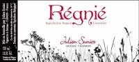 2015 Julien Sunier, AOC Rebnie, Cru Beaujolais, France
