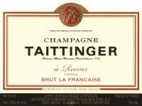 NV Champagne Taittinger, Brut la Francaise, Reims, France