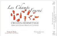 "2014 Charles & Francois Tardy, ""Les Champs Fourne,""  AOC Crozes-Hermitage, France"