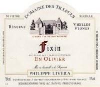 """2013 Domaine des Tilleuls, """"En Olivier"""", AOC FIxin, Burgundy, France"""
