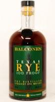BALCONES RYE 100PRF 750ML