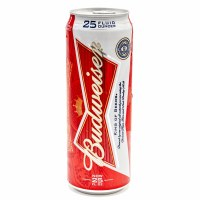 BUD CAN              25OZ