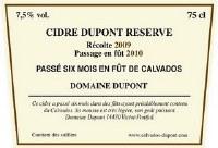 E DUPONT CIDER RSV CALVAD 750