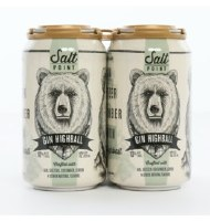 SALT POINT GIN HIGHBALL 4PK
