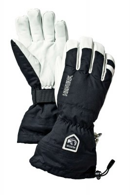 2021 Hestra Army Leather Heli Glove Black 6