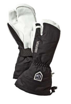 2021 Hestra Army Leather Heli 3-Finger Black 7
