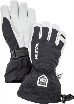 2021 Hestra Army Leather Heli Junior Glove Black 4