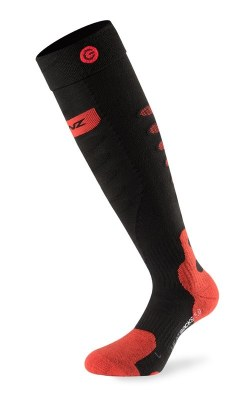 2021 Lenz 5.0 ToeCap Heat Sock Only (no kit) Black/Red Extra Large