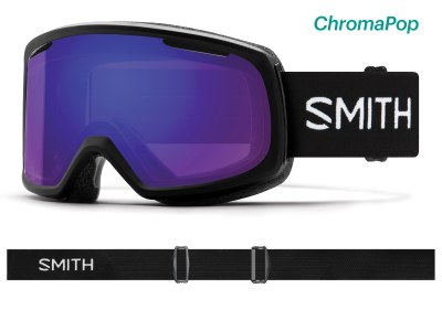 2020 Smith Riot Black with ChromaPop Everyday Violet Mirror Lens