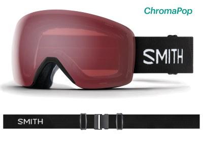 2019 Smith Skyline Black with ChromaPop Everyday Rose Mirror Lens