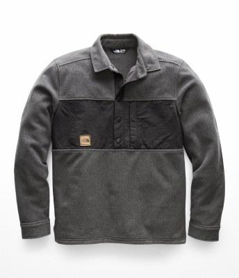 2019 The North Face Mens Davenport Pullover Asphalt Grey Extra Large