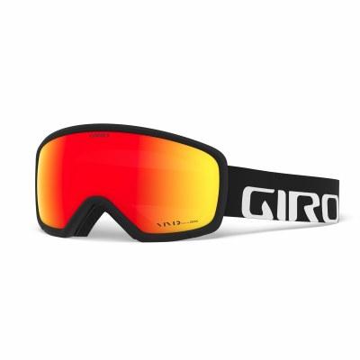 2021 Giro Ringo Black Woodmark with Vivid Ember Lens