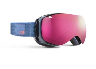 2021 Julbo Ventilate Dark Blue Marble with Rose Lens