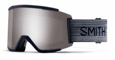 2020 Smith Squad XL Ink with ChromaPop Sun Platinum Mirror Lens