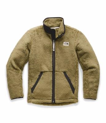 2020 TNF Boy's Campshire Full Zip British Khaki Extra Large