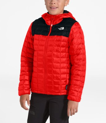 2020 TNF Boy's Thermoball ECO Hoodie Night Green Large