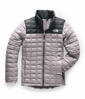 2020 TNF Girl's Thermoball ECO Full Zip Jkt Ashen Purple Medium
