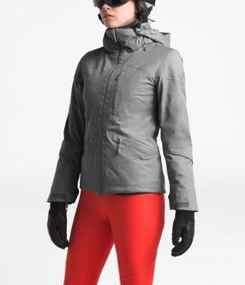 2020 TNF Women's Lenado Jacket Mid Grey Heather Small