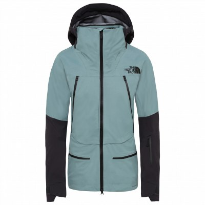 2020TNF Women's Purist Jacket Trellis Green/Weathered Black Large