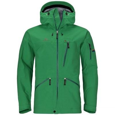 2021 Elevenate Backside Men's Jacket Solid Green Extra Large