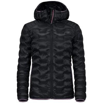 2021 Elevenate Motion Hood Women's Jacket Black Medium