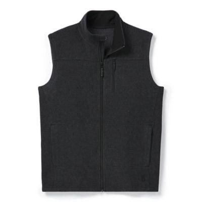 2021 Smartwool Men's Anchor Line Vest Charcoal Heather Medium