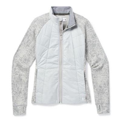 2021 Smartwool Women's Smartloft 60 Jacket Storm Grey Small