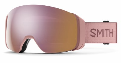 2021 Smith 4D Mag Rock Salt Tanin, CPE Rose Gold & Storm Rose Flash Lenses