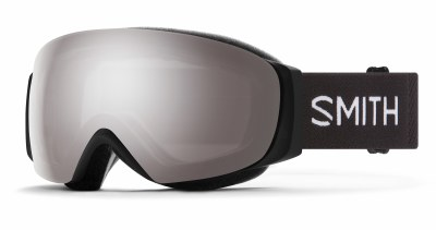 2021 Smith IO Mag S Black, CPS Platinum & Storm Rose Flash Lenses