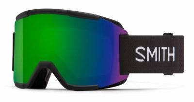 2021 Smith Squad Black, CPS Green & ChromaPop Yellow Lenses