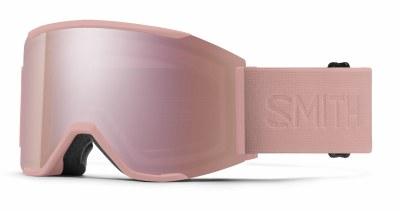 2021 Smith Squad MAG Rock Salt Flood, CPE Rose Gold & Gold Mirror & Storm Rose Flash Lenses