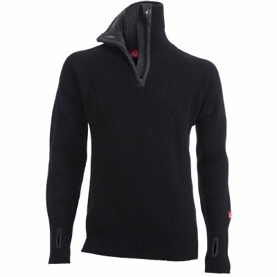 2021 Ulvang Raf 1/2 Zip Sweater Black/Charcoal Extra  Large