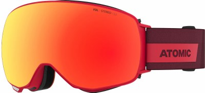 2022 Atomic Revent Q Stereo Red w/Red Stereo & Pink/Yellow Stereo Lenses