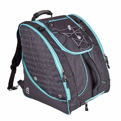 2022 Athalon Deluxe Everything Boot Bag Graphite/Teal