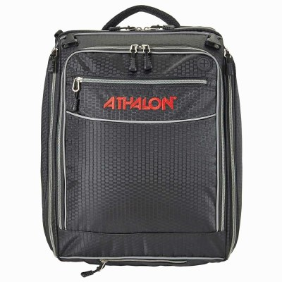 """2022 Athalon The """"Onboard"""" Convertible Boot Bag Black/Silver"""