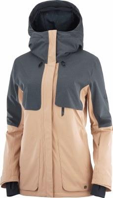 2022 Salomon Womens Proof LT Jacket Ebony/Sirocco Small