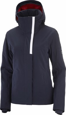 2022 Salomon Womens Speed Jacket Night Sky/White Medium