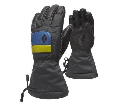 2021 Black Diamond Kids Spark Glove Denim/Aloe Small